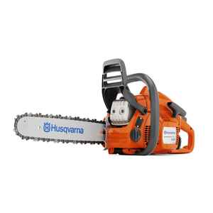 Husqvarna  18 in. L Gas Powered  Chainsaw