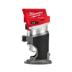 Milwaukee  M18 FUEL  1.25 hp Cordless  Compact Router  Bare Tool  18 volt 31000 rpm