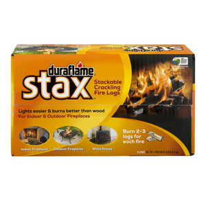 Duraflame  Stax  Crackling Fire Log  3