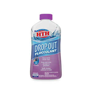 hth  drop out  Flocculant  1 qt.