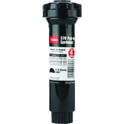 Toro  4 in. H 15 ft. Pop-Up Sprinkler  Half-Circle