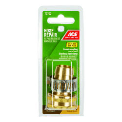 Ace  3/4 in. Hose Barb x 3/4 in. FHT  Brass  Threaded  Female  Hose Repair