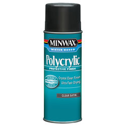 Minwax Satin Clear Polycrylic 11.5 oz.