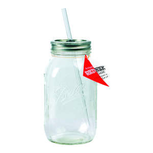 Rednek  Guzzler  Glass  Clear  1 each Mason Jar