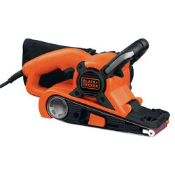 Black and Decker Dragster 21 in. L x 3 in. W Corded Belt Sander Bare Tool 7 amps 120 volt 800 F