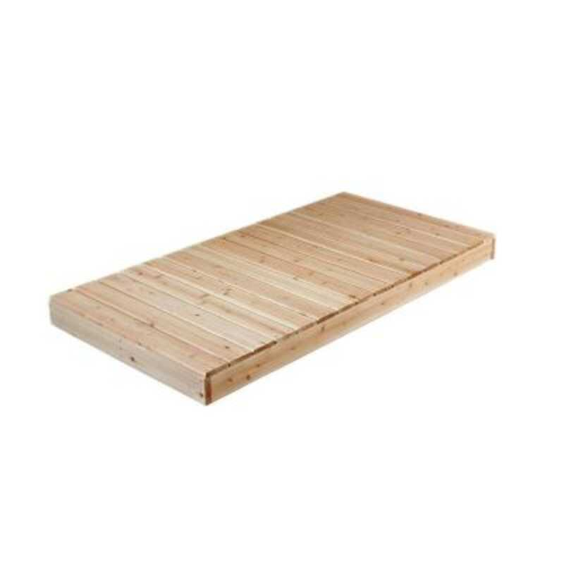 Tommy Docks  Brown  Brown  Wood  Cedar Dock Kit