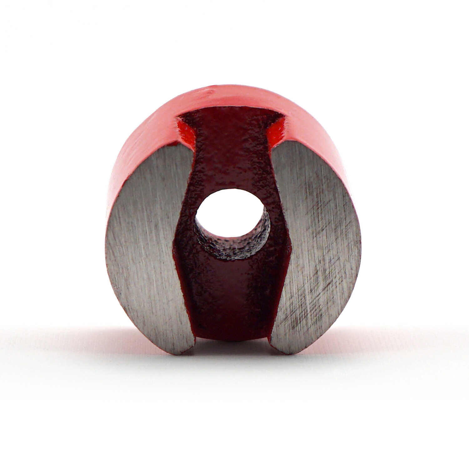 Master Magnetics  .5 Dia. in. Alnico  Work Holding Magnet  4 lb. pull 5.5 MGOe Red  1 pc.