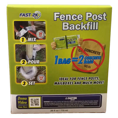 Fast 2K  Fence Post Backfill  26
