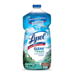 Lysol Clean and Fresh Cool Adirondack Air Scent Antibacterial Disinfectant 40 oz. 1 pk