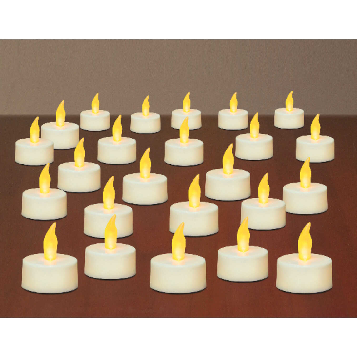 Inglow  White  Tealight  Candle  3.25 in. H