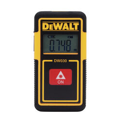 DeWalt  30 ft. L x 3.7 in. W Laser Tape Measure  1 pk