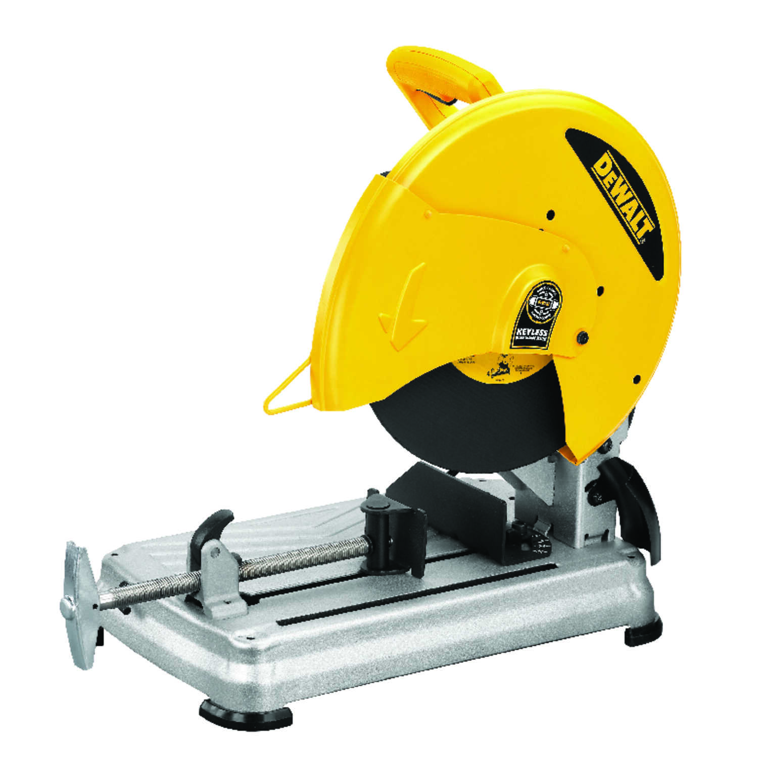 DeWalt  Corded  Chop Saw  15 amps 5-1/2 hp 14 in. 4000 rpm