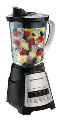 Hamilton Beach  Power Elite Blender  40 oz. 12 Stainless Steel   700 watts