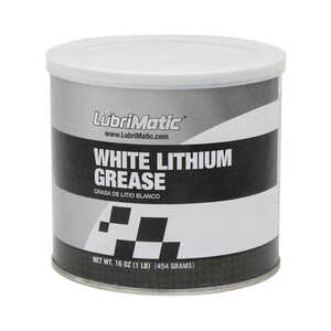 Lubrimatic  White Lithium  Grease  Can  16 oz.