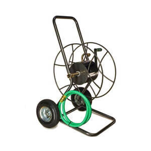 Yard Butler  200 ft. Wheeled  Hose Cart  Silver
