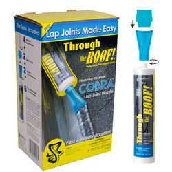 Sashco Cobra Through the Roof Clear Elastomeric Polymers Sealant and Adhesive Kit