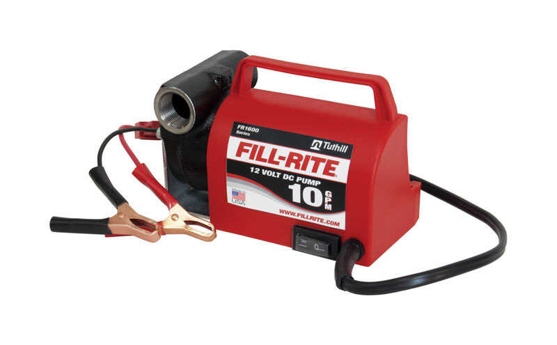 Fill-Rite  Cast Iron  Portable Fuel Pump  10