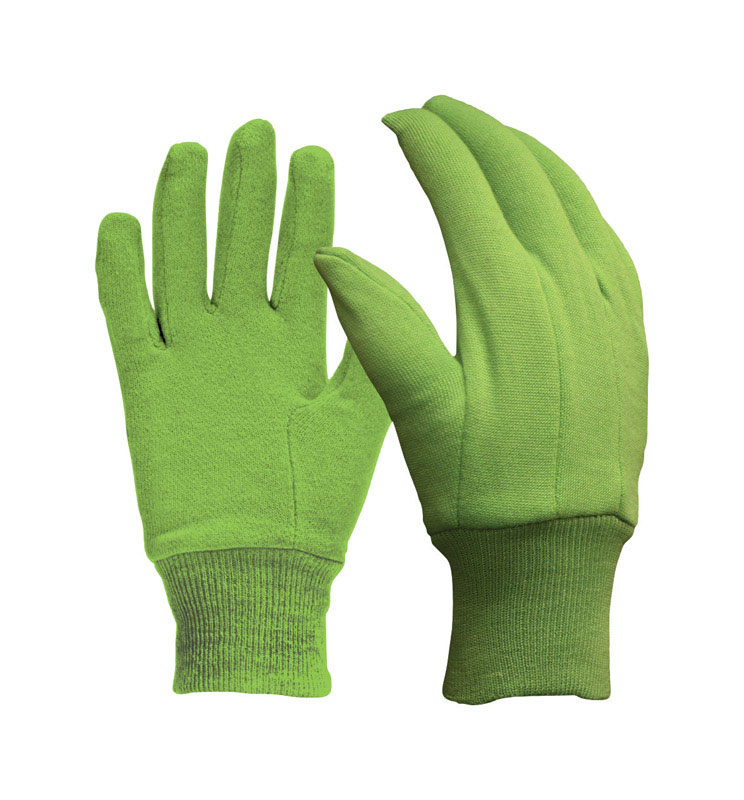 Digz  Green  Women's  Jersey Cotton  Gardening Gloves  Garden  M