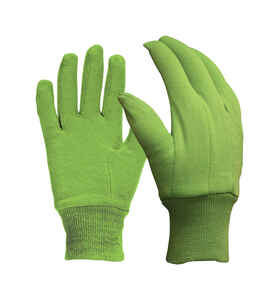 Digz  M  Jersey Cotton  Garden  Green  Gardening Gloves