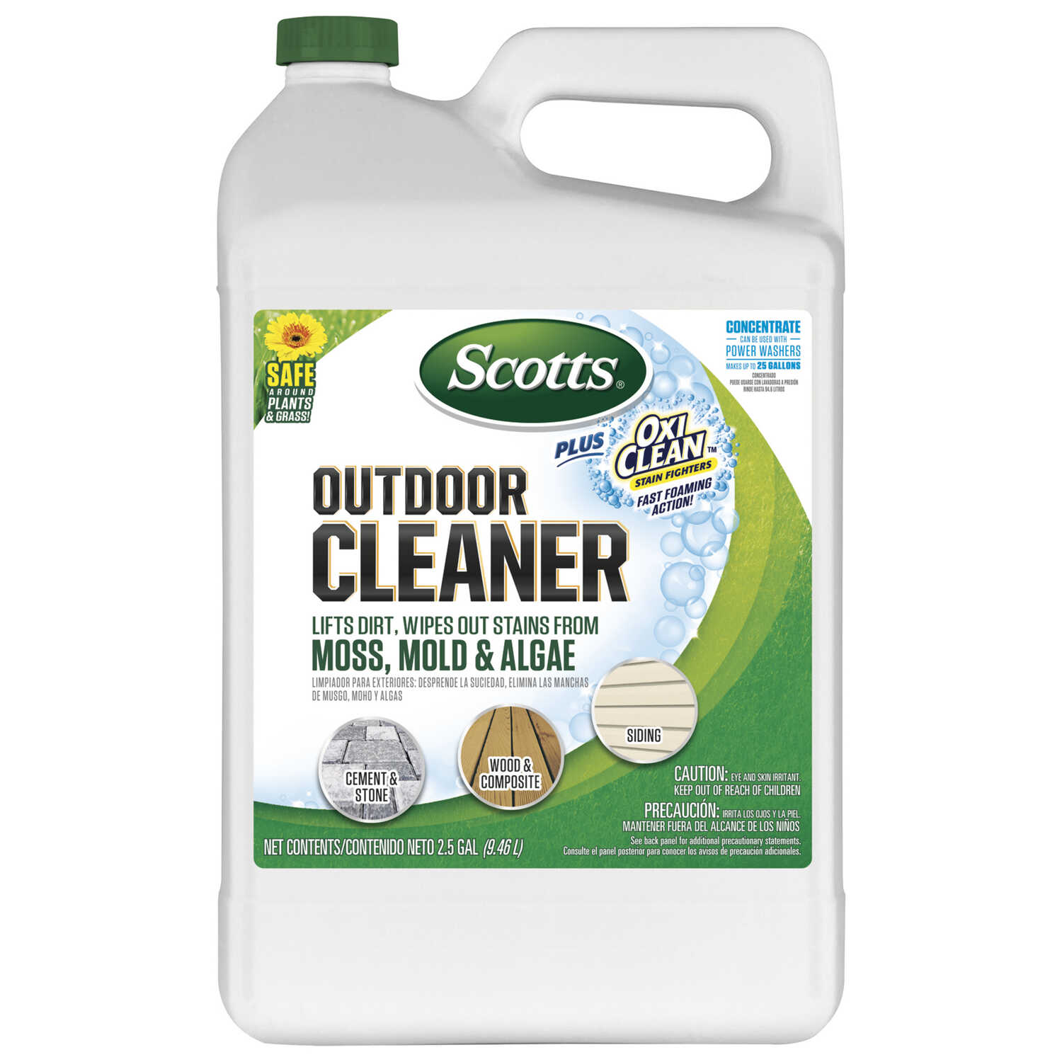 Scotts  OxiClean  Outdoor Cleaner Concentrate  2.5 gal. Liquid