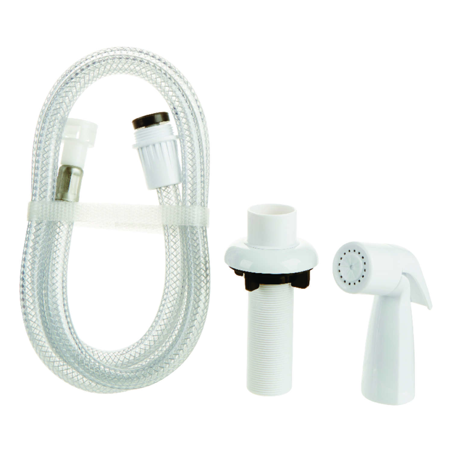 OakBrook For Universal White Faucet Sprayer with Hose