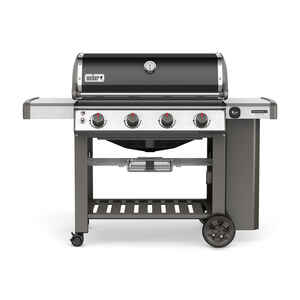 Weber  Genesis II SE-410  4 burners Natural Gas  Grill  Black  48000 BTU