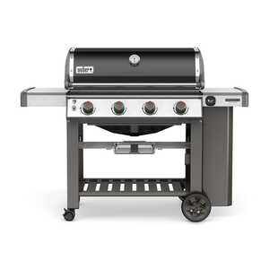 Weber  Genesis II SE-410  4 burners Natural Gas  Black  Grill  48000 BTU