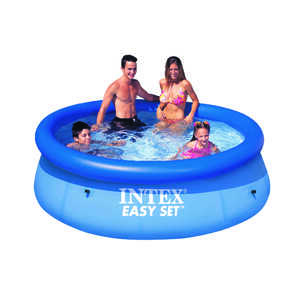 Intex  Easy Set  639 gal. Round  Above Ground Pool  30 in. H x 8 ft. Dia.
