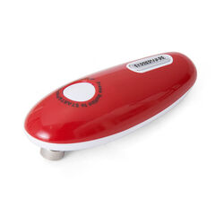 Farberware  Red  Plastic  Battery Operated  Can Opener