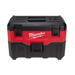 Milwaukee  M18  2 gal. Cordless  Wet/Dry Vacuum  18 volt Black/Red  10.1 lb.