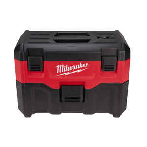 Milwaukee  M18  2 gal. Cordless  Wet/Dry Vacuum  2.8 amps 18 volt Black/Red  10.1 lb. 5 pc.