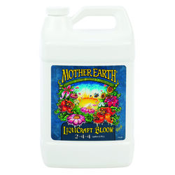 Mother Earth  LiquiCraft Bloom 2-4-4  Hydroponic Plant Nutrients  1 gal.