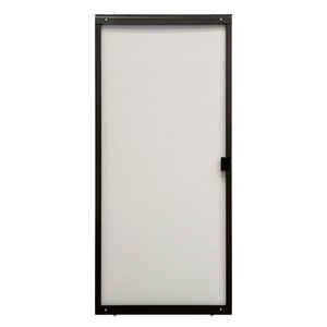 Precision  Breezeway Series  79 in. H x 48 in. W Breezeway  Bronze  Steel  Adjustable Sliding Screen