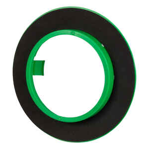 Madison Electric  Draft Seal  Round  Ceiling  Draft Seal Kit  Black/Green  PVC