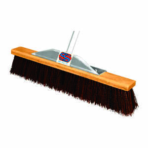 The Super Sweeper  Multi-Surface Push Broom  24 in. W x 60 in. L Polypropylene