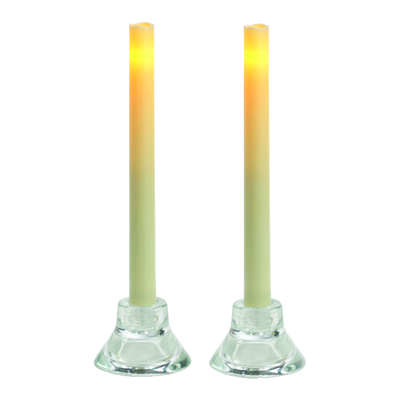 Inglow  Butter Cream  Candle  9 in. H