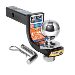 Reese  Towpower  Steel  1-1/4 in. 2-1/2in. Drop  Towing Starter Kit