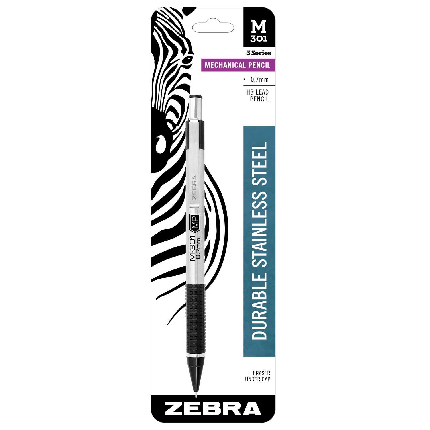Zebra M-301  0.7  Mechanical  Pencil  1 pk