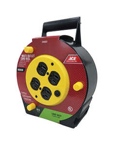 Ace Power Caddy  16/3 SJT 25 ft.    Grounded 12 amp   Yellow/black