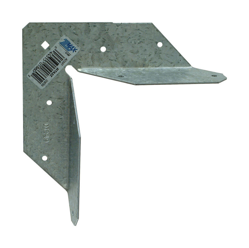 Simpson Strong-Tie  5.94 in. H x 5.94 in. W Galvanized Steel  Rigid Tie Angle  16 Ga.