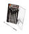 Performance Tool  6 pc. Phillips/Slotted  6-in-1 Interchangeable Screwdriver Set