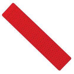 Hillman 3 in. W x 24 in. L Rectangle Red Reflective Safety Tape 1 pk