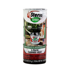 Sterno  Cooking Fuel  5.68 in. H x 2.50 in. W x 2.50 in. L 3 pk