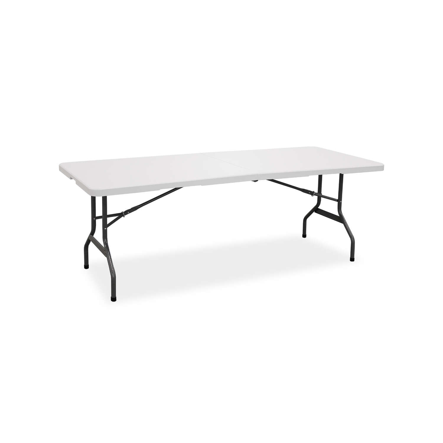 Living Accents 29-1/4 H x 30 W x 72 L Rectangular Fold-in-Half Table