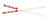 Bethany  7/8 in. W x 24 in. L Silver  Wood  Lefse Turning Stick