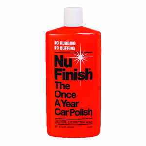Nu-Finish  Liquid  Automobile Polish  For Use Once A Year 16 oz.