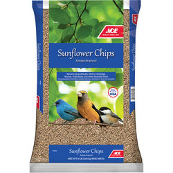 Ace  Sunflower Chips  Songbird  Sunflower Chips  Sunflower Chips  8 lb.