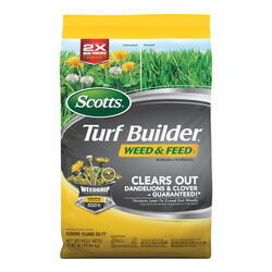 Scotts Turf Builder Weed & Feed 28-0-3 Lawn Fertilizer 15000 sq. ft. For All Grasses