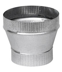 Imperial  3 in. Dia. x 6 in. Dia. Galvanized Steel  Stove Pipe Increa