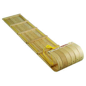 Paricon  Canadian w/ Pad  Canadian  Wood  Toboggan  72 in.